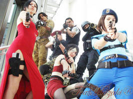 Resident Evil Group - 2 by TeaMazaki