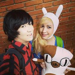 Adventure Time Selfie! by TeaMazaki