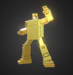 3D Gold Lightan by Ultimatetransfan