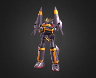 3D Gunbuster by Ultimatetransfan