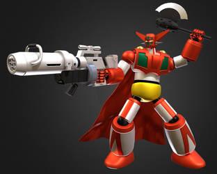 3D Getter-1 by Ultimatetransfan