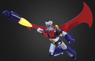 3D Mazinger Z by Ultimatetransfan