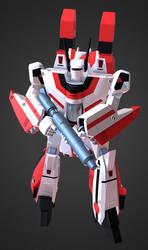 3D G1 Jetfire by Ultimatetransfan