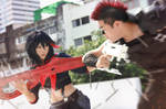 Matoi And Tsumugu by Inushio
