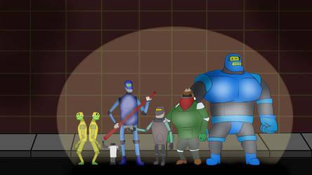 Meet the Robo Bandits! by WolfBeast99