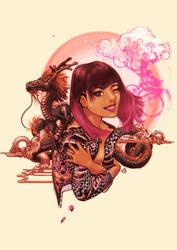 Blossom(original) by Travis-Miyagi