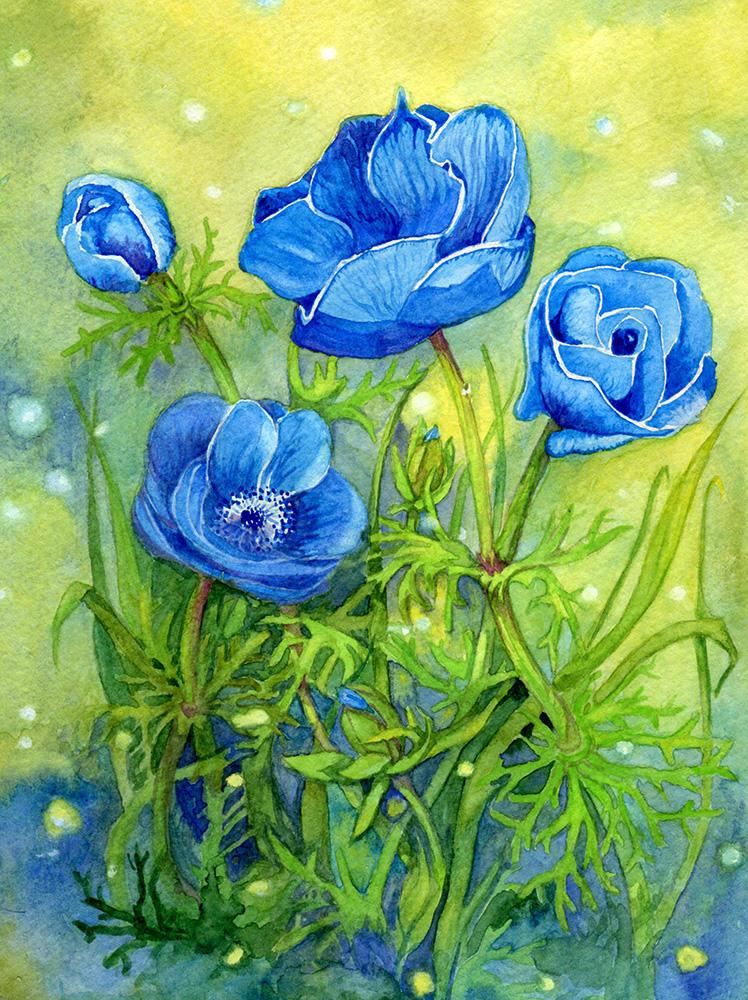 Summer Flowers 8 by Til-Til