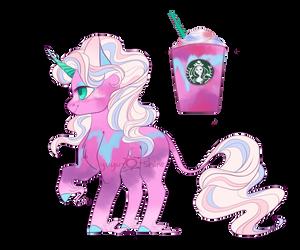 Starbucks Unicorn Frappe Adopt (CLOSED) by yuyusunshine