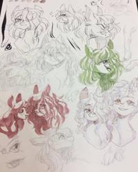 Honey Doodles by yuyusunshine
