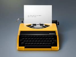 Little TypeWriter Icon by philippdatz