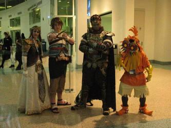 Zelda cosplay group by eviljackspicer