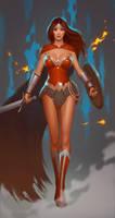 WonderWoman. by janunolart