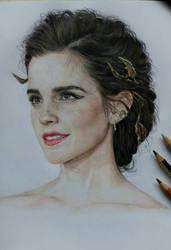 Emma Watson by nimrodelxx