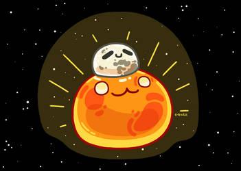 Sun n Moon Slime by e-Readie