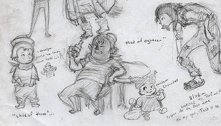 Doodles by ThuropWorshipper