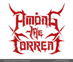 Among the Torrent Logo by modblackmoon