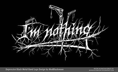 I'm nothing Logo by modblackmoon