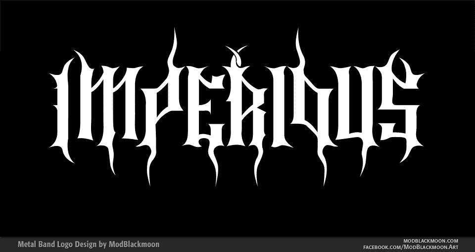 IMPERIOUS Epic Metal Band Logo Design by modblackmoon