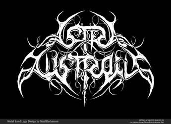 Astra Australis - Black Metal Band Logo Design by modblackmoon