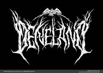 DENELAND - Pagan Black Metal Band Logo Design by modblackmoon