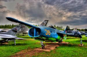 Yak-36 by DenChetto
