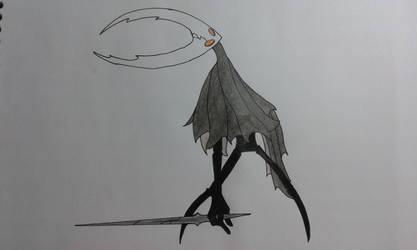 The Hollow Knight by Chrona-sama