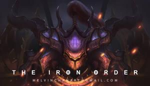 Iron Order Helm by MelvinChanArt