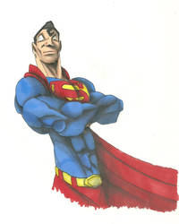 SuperMan by GregKimmett123