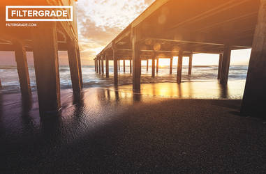 Basic Light Leak Photoshop Action 2 by filtergrade