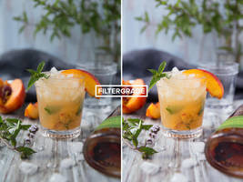 Perspective Free Food Photoshop Action by filtergrade
