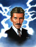 Nikola Tesla by Habjan81