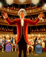 Mozart by Habjan81