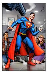 Superman sample pg 4 Colour by Habjan81