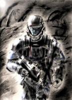 Orbital Drop Shock Trooper by Noble--6