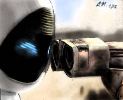 WALL E and EVE by Noble--6