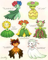 Bellossom variants by handelfly