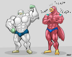 Geamex And Fergal by GMXmuscle