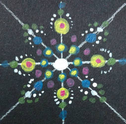 Mandala Practice Just circles by BenjiFlareon