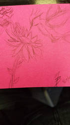 Doodles: Bird and Flower by MisfitsTamara