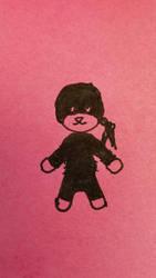 Doodle: Teddy Daredevil by MisfitsTamara