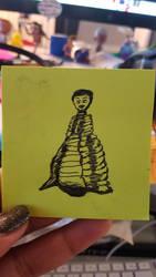 Doodle: Ezra Miller Energy by MisfitsTamara
