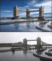 New London Bridge by Javagreeen