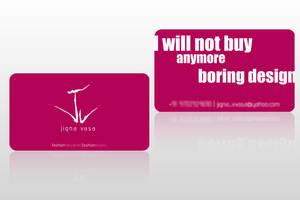 Visiting Card by Javagreeen