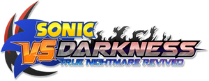 Sonic VS Darkness T.N.R - My take on the logo by FrancoTieppo