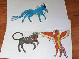 Pokemon horses by freespirit115