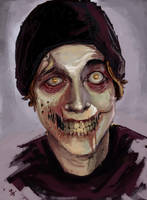 me as a zombie by IG000R