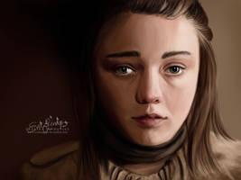 Arya Stark by EvelinaLindqvist