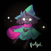 ralsei by raiadraws