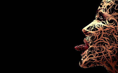 vector face - lomo by tHugAng3L
