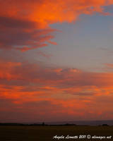 Fire In The Sky by AngelaLeonetti